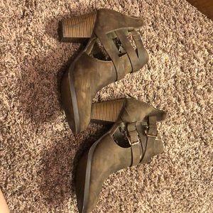Booties heels
